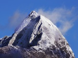 Mitre Peak on New Zealand's South Island Photographic Print by Frank Krahmer
