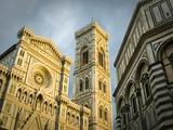 Facade of Santa Maria del Fiore Fotografiskt tryck av Mark Bolton