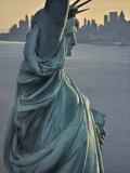 Frihedsgudinden Fotografisk tryk af Cameron Davidson