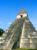 Temple I, The Great Plaza, Tikal National Park, Peten, Guatemala Photographic Print by Blaine Harrington