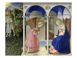 The Annunciation (panel) Giclée-Druck von  Fra Angelico