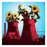 Green energy Giclee Print