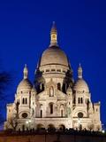 Sacre Coeur Basilica Photographic Print by Sylvain Sonnet
