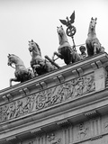 Statues on Top of Brandenburg Gate Photographic Print by Murat Taner