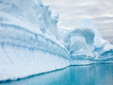 Landscape of blue polar ice and water Photographic Print by Ralph Lee Hopkins