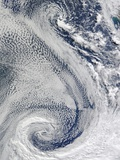 Polar Cyclone Photographic Print