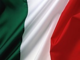 Italian flag Photographic Print by Jim Barber