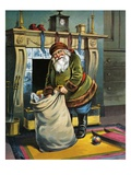 He Looked Like a Peddler Just Opening His Pack Giclee Print by William Roger Snow