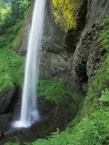 USA, Oregon, Columbia River Gorge Area, Scenic Waterfalls, Latourelle Falls Photographic Print by Chris Cheadle