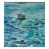 The Escape of Henri de Rochefort Giclee Print by Edouard Manet
