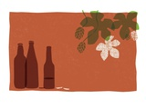 Beer Giclee Print by Anne Bryant