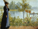 Indian Summer Photographic Print by Carl Larsson