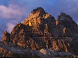 South side of Tre Cime di Lavaredo in Italy Photographic Print by Frank Krahmer