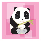 Anime Panda Giclee Print by Harry Briggs