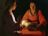 The New Born Child Photographic Print by Georges de La Tour
