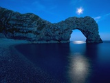 Durdle Door Arched Rock Formation on the Dorset coast Photographic Print by John Harper