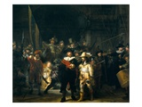 The Company of Frans Banning Cocq and Willem van Ruytenburch Giclee Print by  Rembrandt van Rijn