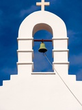Bell cote on Greek Orthodox church Photographic Print by Ted Horowitz