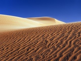 Wind tracks in dunes in the Erg Awbari Photographic Print by Frank Krahmer
