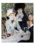 After the Luncheon Giclée-tryk af Pierre-Auguste Renoir