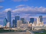 Dallas Skyline Photographic Print by Murat Taner