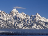 Banner Cloud on Summit of Grand Teton Photographic Print by Scott T. Smith