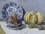 Still Life with Melon Giclee Print by Claude Monet