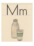 M is for Milk Giclee Print
