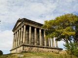 Temple at Garni Photographic Print by Wolfgang Kaehler