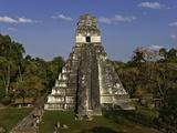 Danny Lehman - Temple I or Temple of the Giant Jaguar at Tikal - Fotografik Baskı