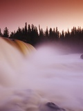 Pisew Falls, Pisew Falls Provincial Park, Manitoba, Canada. Photographic Print by Dave Reede
