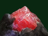 Rhodochrosite mineral from China's Wuton mine Photographic Print by Walter Geiersperger