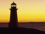 Peggy's Cove at Sunset, Nova Scotia, Canada. Photographic Print by Gary Murray