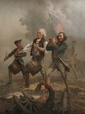Yankee Doodle 1776 Fotografisk tryk af A. M. Willard