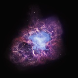 Neutron Star at the center of the Crab Nebula Photographic Print