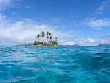 Tropical island, Micronesia Photographic Print
