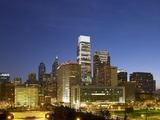 Philadelphia skyline Photographic Print by  Schwebb