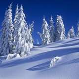 Fresh Snow on Mount Elphinstone, British Columbia, Canada. Photographic Print by Dean van't Schip