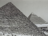Pyramids/Cairo/Giza/Egypt Photographic Print by Frank Andolino