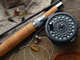 Fishing Reel and Lures Photographic Print by Jim Barber
