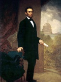 Abraham Lincoln Photographie par William F. Cogswel
