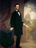 Abraham Lincoln Reproduction photographique par William F. Cogswel