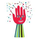 Interactive hand Giclee Print by Frederico Jordán