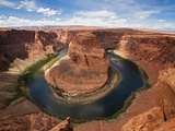 USA Arizona Horseshoe Bend elevated view Photographic Print by Fotofeeling