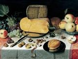 Stilleben Fotografiskt tryck av Floris Claesz. Van Dyck