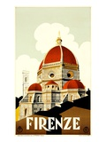 Firenze Poster Giclee Print