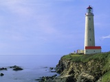 Canadas Tallest Lighthouse Cap-des-Rosiers, Gaspe Peninsula, Quebec, Canada Photographic Print by Mike Grandmaison