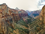Canyon in Zion National Park Photographic Print by Mark A. Johnson