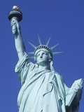 USA, New York City, Statue of Liberty Photographic Print by Chris Cheadle