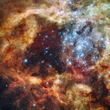 30 Doradus Nebula in the Large Magellanic Cloud Photographic Print